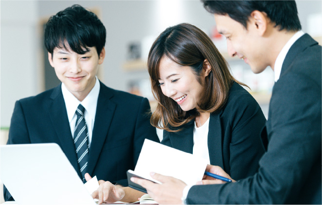 サービスプロモーションに必要な人材派遣の運営管理サービスのイメージ